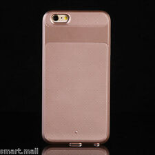 Rose Gold For Apple iPhone 6S New Hybrid Shockproof Heavy Duty Rubber Case Cover