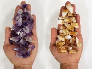 AMETHYST & CITRINE COMBO Bulk Wholesale Crystal Points & Chunks