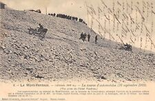 CPA 84 LE MONT VENTOUX LA COURSE D'AUTOMOBILES 1903