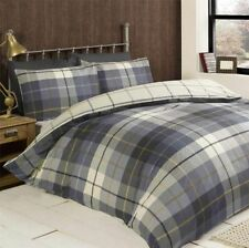 Linge de lit et ensembles bleus contemporains en 100% coton