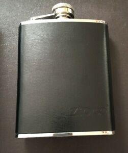 Zippo Leather Bound Hip Flask 6oz