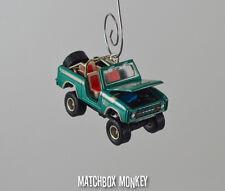 Gas Monkey Garage Twin Peaks 1976 Ford Bronco 4x4 1/64 Christmas Ornament Adorno