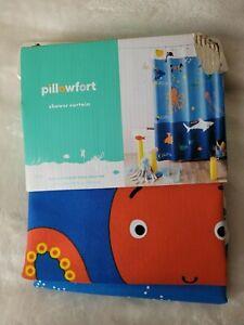 "Pillowfort - Underwater Adventure Shower Curtain - 72"" x 72"""
