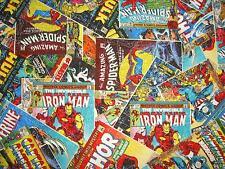 Marvel Superhero Superheroes Iron Man Captian America Hulk Spider-Man Comic Book