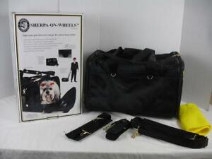 Sherpa-On-Wheels Airline-Approved Dog & Cat Carrier Bag Size Large 99891 Black