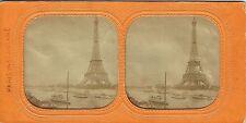 Vue stéréos panoptique : Paris Instantané ; La Tour Eiffel