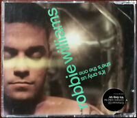 Robbie Williams It's Only Us / She's The One Enhanced CD Single – Ex