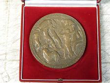 Medaglia in bronzo nel suo scrigno Moneta di Parigi