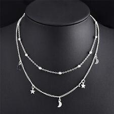 Choker Chunky Bib Statement Necklace Fashion Women Charm Jewelry Pendant Chain