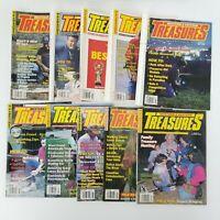 Lot of 10 Year 1992 Western & Eastern Treasures Magazine Issues Metal Detecting