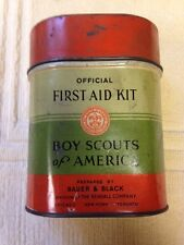 Vintage Bauer & Black Boy Scout First Aid Kit
