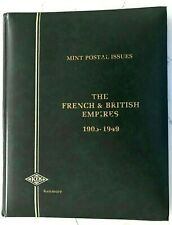 KELMORE Hingeless stamp Album with 149 French & GB stamps ALL Mint NH OG VF/XF