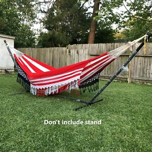 Ingalex American Flag hammock superior quality weather resistant king size450kg