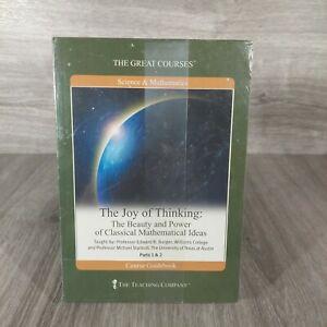 THE JOY OF THINKING Great Courses 4-Disc DVD SET Classical Mathematical Ideas