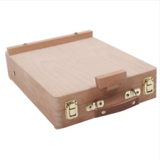 Box Easel Painting Storage Travel Art Supplies Suitcase Oil Paint Tools Craft