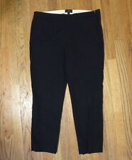 J. Crew Womens Navy Martie pant in bi-stretch cotton Blue Size 12 style: B8521
