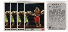 1X MUHAMMAD ALI 1991 All World Boxing #69 GOLD FOIL Lots Available WBC WBO IBF