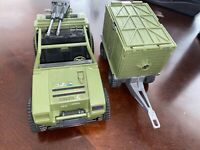 Vintage GI Joe - VAMP vehicle (1982) And Coastal defender (1987) - Incomplete