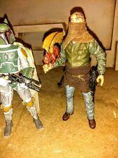 Custom star wars black series bounty Hunter with pet dragon 6 inch figure