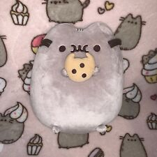 GUND Pusheen Cookie Snackable Stuffed Plushie Authentic WITH TAGS Large Size 9.5