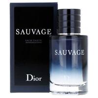 SAUVAGE de CHRISTIAN DIOR - Colonia / Perfume EDT 60 mL - Hombre / Man / Uomo