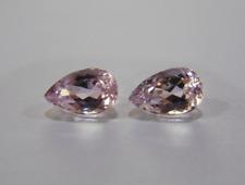 Loose Gemstones - Pink Kunzite Pair 8.59TCW