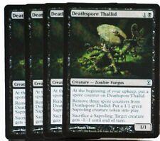 MTG: 4x deathspore Thallid! time spiral! Engl. Presque comme neuf magic the gathering Fouine! fouine