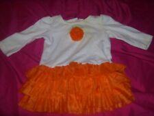 Infant girls Thanksgiving/Halloween long sleeve shirt size 3-6 months