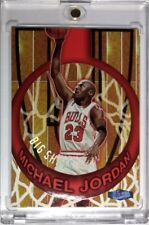 1997 97 ULTRA Michael Jordan BIG SHOTS #1, Rare Embossed MJ Insert, Bulls HOF