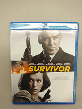 Survivor (Blu-ray Disc, 2015), Used, Disc=Excellent, Case=Good