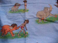 """coupon tissu """" le livre de la jungle """"  Walt Disney   138 X 145 cm"""
