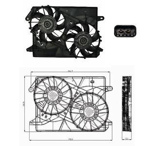 Rad & Cond Fan Assembly Fits: 2005 - 2008 Chrysler 300 V6 2.7L 3.5L V8 5.7L 6.1L