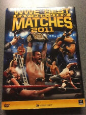 PRE-OWNED THREE-DISC WWE DVD SET - BEST PAY-PER-VIEW MATCHES OF 2011 - JOHN CENA