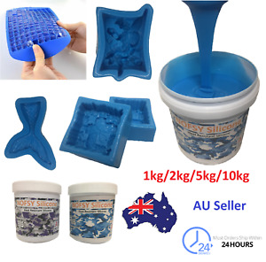 Liquid silicone mould making mix kit heat resistant silicone 1KG/5kg bulk NOFSY
