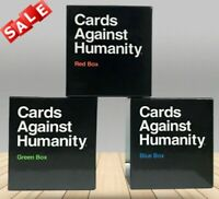 Cards Against Humanity UK Expansion Red+Green+Blue Box(3 Pack)