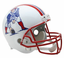 NEW ENGLAND PATRIOTS NFL Riddell Full Size REPLICA Throwback Football Helmet