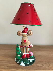 Christmas Reindeer Tea Light Lantern