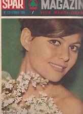 Spar Magazine Claudia Cardinale n°128 02/1965