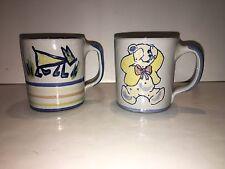 Louisville Stoneware Children's Mugs - Bear and Dog