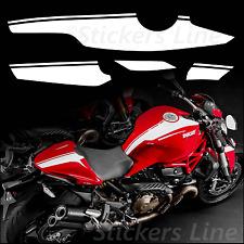 Adesivi moto strisce Ducati monster 821 1200 fasce replica monster 1200s 2015