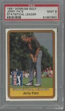 1981 Donruss Golf Jerry Pate Statistical Leader PSA 9 MINT 81887663