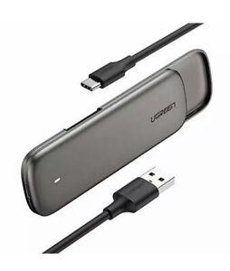 UGREEN M.2 SATA SSD Enclosure USB C to M2 Caddy NGFF Gen2 Adapter External Drive
