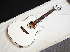 DEAN Exhibition Ultra acoustic electric GUITAR Classic White NEW - Fishman USB