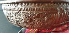 Old Balinese Hand Beaten Copper Pan …beautiful collection and display piece