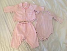 Emile et Rose 3-6 meses Conjunto de Ropa de Bebé Niñas Pijamas Chaleco Paquete de diseñador