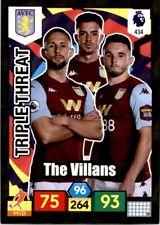 Panini Premier League Adrenalyn XL 19/20 (Aston Villa) TRIPLE THREAT No.434