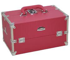 Schmuckkoffer Beauty Case Kosmetikkoffer SORISE GENUA Pink