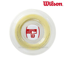 Wilson Tennis String Synthetic Gut Control 1.30mm 16G 200M 660ft Natural