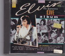 Elvis Presley-The Definitive Love Album cd album