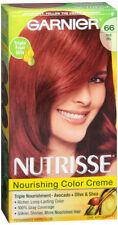 Garnier Nutrisse Nourishing Hair Color Creme #66 True Red Pomegranate